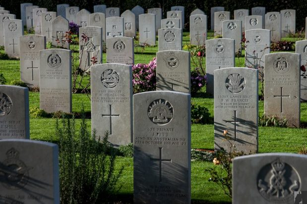 Remembrance Day Service, 11th November at Botley Commonwealth War Graves
