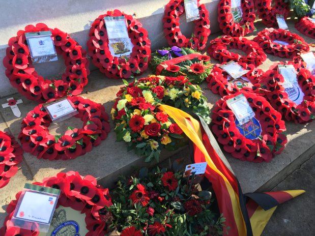 Remembrance Day arrangements