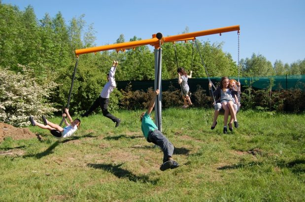New adventure play equipment now installed!