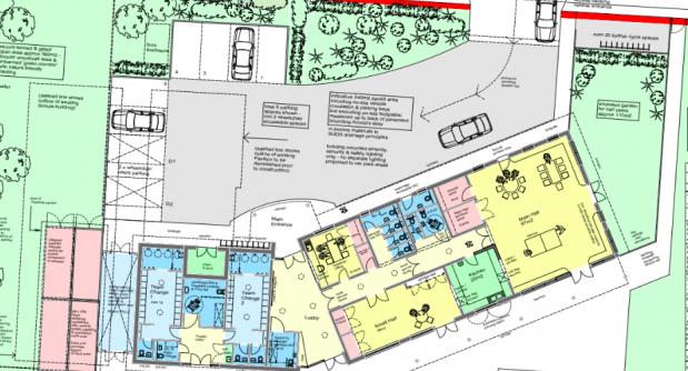 Latest plans for new Pavilion building