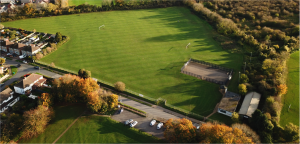 Aerial view of Upper Playing Field
