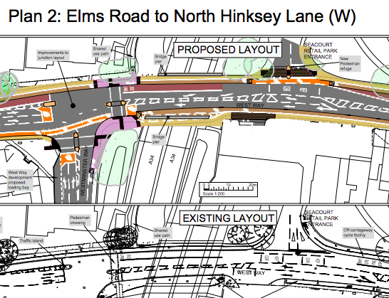 Botley Road traffic improvements public consultation