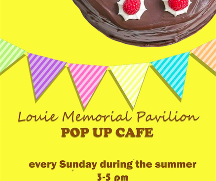 Pop-up Cafe Sunday 14th July