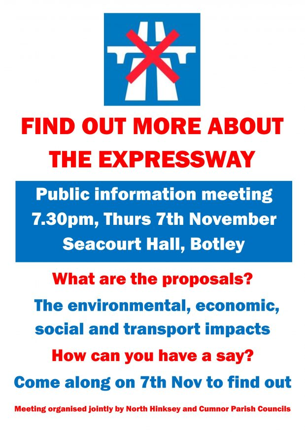 Public meeting: Oxford – Cambridge Expressway