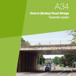 A34 Botley Road Bridge repairs