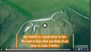 screenshot of Vale of White Horse Council video