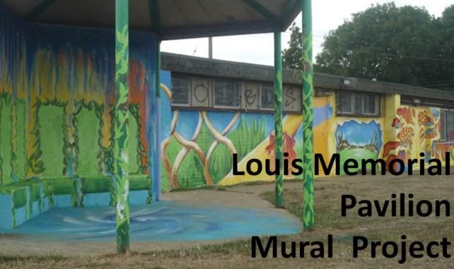 Lousi Memorial Pavilion Mural Project font page